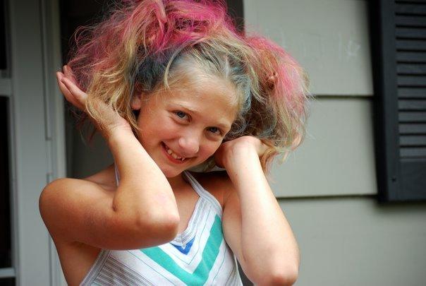 Kaelyn crazy hair